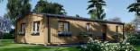 Chalet en bois habitable NICOLE (44 mm + bardage, RT2012), 78 m² visualization 8