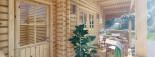 Chalet en bois PARIS (44 mm), 21 m² + 11 m² terrasse visualization 9