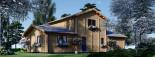 Maison en bois HOLLAND PLUS (66 mm), 120 m² + 13 m² terrasse visualization 7