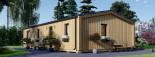 Chalet en bois habitable NICOLE (44 mm + bardage, RT2012), 78 m² visualization 6