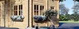 Chalet en bois AVIGNON (44 mm), 19.9 m² + 16 m² étage  visualization 7