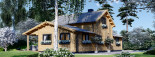 Chalet en bois HOLLAND (66 mm), 113 m² + 13 m² terrasse visualization 5
