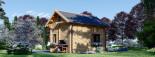 Chalet en bois habitable AVIGNON (44+44 mm, RT2012), 19.9 m² + 16 m² étage visualization 5