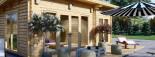 Studio de jardin MAJA (66 mm), 7.5x4 m, 30 m² visualization 8
