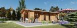 Studio de jardin ANNA (44 mm), 20 m² + 16 m² terrasse visualization 1