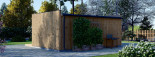 Bureau de jardin PREMIUM (SIPS, RT2012), 7x4 m 28 m² visualization 6