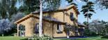 Maison en bois HOLLAND PLUS (66 mm), 120 m² + 13 m² terrasse visualization 8