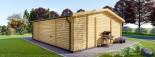 Studio de jardin MILA (44 mm), 56 m² visualization 5
