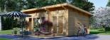 Studio de jardin MAJA (66 mm), 7.5x4 m, 30 m² visualization 4