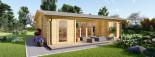 Studio de jardin MILA (44 mm), 56 m² visualization 7