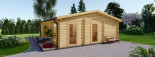 Studio de jardin MILA (44 mm), 56 m² visualization 3