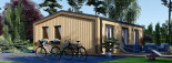 Chalet en bois ANGELA (44 mm + bardage), 50 m²  visualization 4