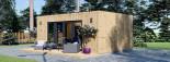 Bureau de jardin PREMIUM (SIPS, RT2012), 7x4 m 28 m² visualization 5