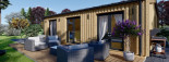 Chalet en bois ANGELA (44 mm + bardage), 50 m²  visualization 10