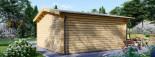Abri de jardin DREUX (44+44 mm, RT2012), 6x6 m, 36 m² visualization 4