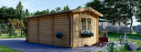 Abri de jardin OAK (44 mm), 6x3 m, 18 m² visualization 4