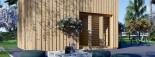 Studio de jardin LISA (44 mm + bardage), 21.84 m² visualization 8