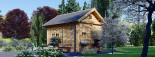 Chalet en bois AVIGNON (44 mm), 19.9 m² + 16 m² étage  visualization 5