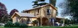 Maison en bois HOLLAND PLUS (66 mm), 120 m² + 13 m² terrasse visualization 3