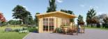 Abri de jardin  WISSOUS (34 mm), 4x3 m, 12 m² visualization 1