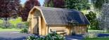 Garage en bois BARN (44 mm), 5x6 m, 30 m² visualization 7