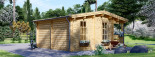 Abri de jardin ROYAL (44 mm), 5x5 m, 25 m² visualization 5