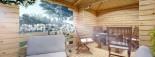 Tonnelle en bois (28 mm), 3x5 m, 15 m² visualization 6
