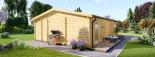 Studio de jardin MILA (44 mm), 56 m² visualization 6