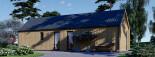 Chalet en bois ADA (44 mm + bardage), 50 m² visualization 9