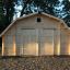 Garage en bois BARN (44 mm), 5x6 m, 30 m² customer 1